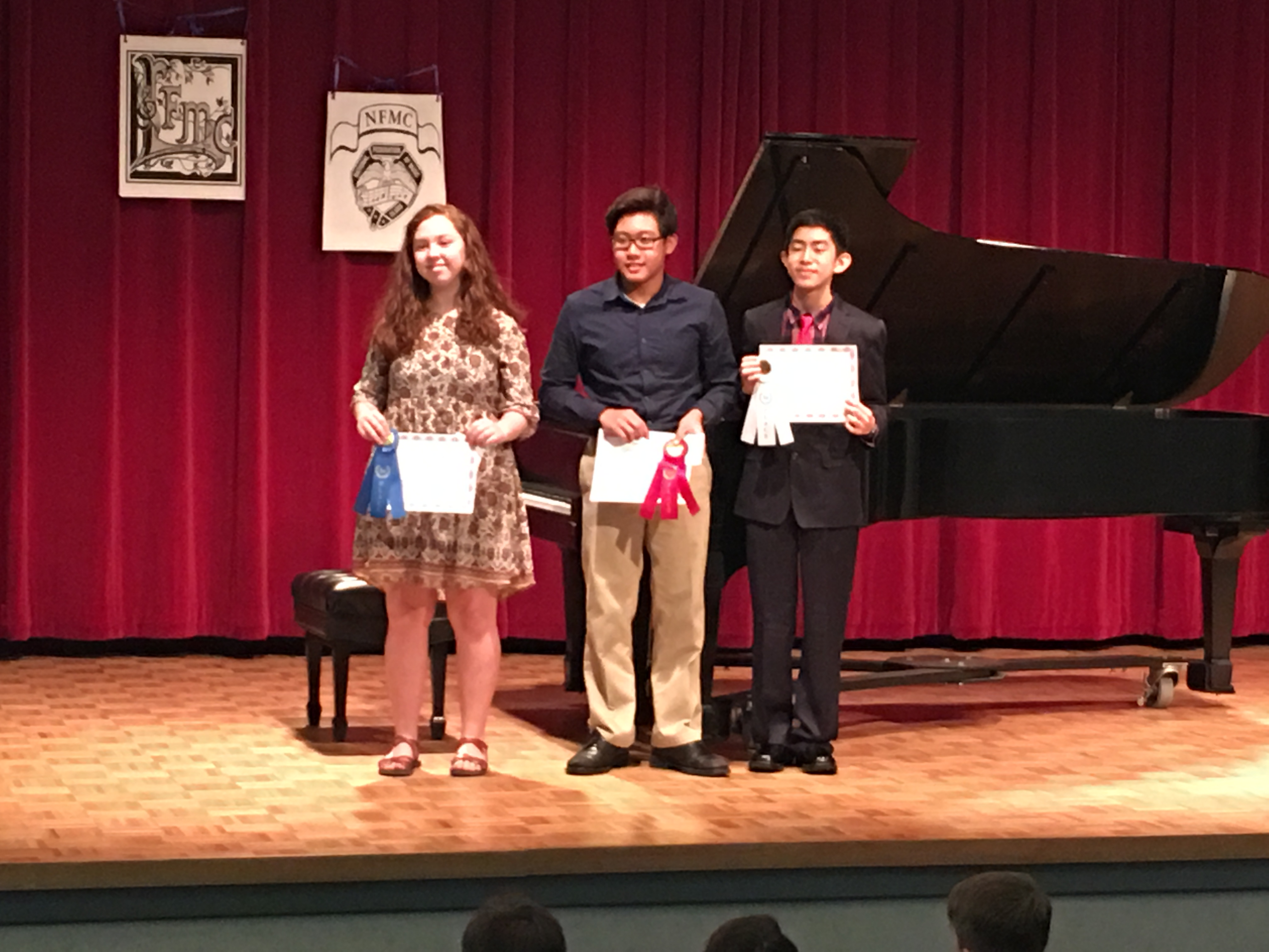 2019 Middle School- MMC Piano Competition Winners (1)